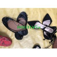 China Popular Used Women'S Shoes Comfortable Second Hand Ladies Leather Shoes on sale