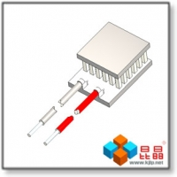 Quality TES1-018 Series (5.0x6.7mm) Peltier Chip/Peltier Module/Thermoelectric Chip/TEC/Cooler for sale