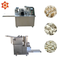 Quality 304 Stainless Steel Dumpling Wrapper Making Machine 2.2 KW Mortar Power for sale