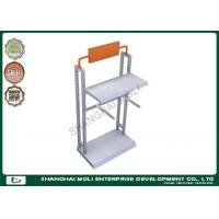 Quality Commercial Two arms metal garment racks for shop display , retail store clothing racks for sale