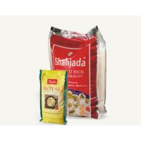 Quality Side Gusset Vacuum Plastic Bag , Stand Up And Color Printed Rice Packaging for sale