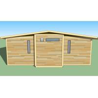 Quality Eco Friendly Expandable Container House Prefabricated Frame Ready Made Container House for sale
