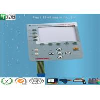 Quality Food Grade Conductive Rubber Keypad Combined With PC Overlay Membrane Switch for sale