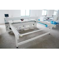Quality 4500 * 3400 * 1400mm Mattress Quilting Machine , 2200 Needle / Min Quilting Sewing Machines for sale