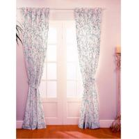China 100% Polyester Bedroom Thermal Blackout Curtains Customized No Grommet on sale
