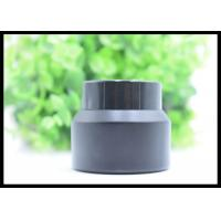 Buy 30g Black Frost Cream Jar Face Gel Glass Bottles Black Lids White Seal at wholesale prices