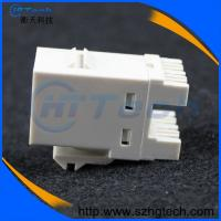 Quality 180 Degree AMP Cat6 Keystone Jack White or Blue Color for sale