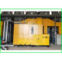 China 7000KG Weight Biomass Pellet Burner PLC Automatic Control Grain Dryer Use on sale