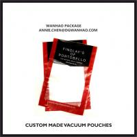 Quality Custom Printed Vacuum Pouches, High Barrier Vacuum Packaging Bags for sale