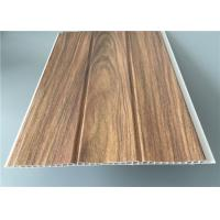 Three Groove Pvc Wall Panels For Office Easy Install Anti Bacterial 25 Cm*8 M