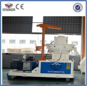 China pellet moisture 8% wood pellet manufacturing machine / wood pellet machine on sale
