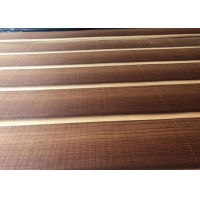 China Smoked 3D Natural Pine Wood Veneer Sheet Quarter Cut For Hotel Decoration on sale