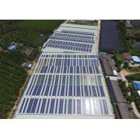 Quality Anodized Flat Roof Solar Mount 5°~10° Installation Angle for sale