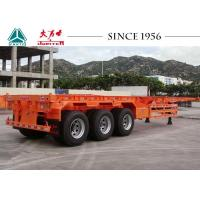 Quality 40 FT 3 Axles Skeleton Trailer High Durability For Container Transport for sale