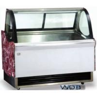 Quality 1200mm Ice Cream Showcase Freezer Tempered Glass With Transparent Conducting Films for sale