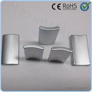 China Small wind turbine generator neodymium arc shaped neodymium magnets for sale on sale