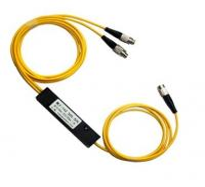 Quality 1 X 2 Mini Module Box PLC Fiber Optic Splitter , Optical Cable Coupler For FTTH for sale