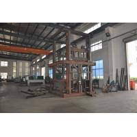 Quality 0.5T 4.5m Guide Rail Elevator Shear Fork Lift Platform with Emergency Stop Button for Cargo for sale