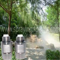 Quality High pressure fog misting nozzle and Tee connector for sale