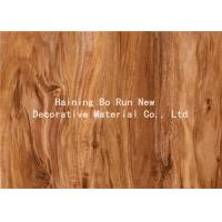 Quality Hot Stamping Realistic Wood Grain Film Customised Decorative Pattern for sale