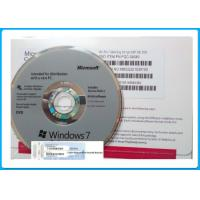 Quality Genuine Microsoft Windows 7 Pro Retail Box 64 Bit DVD / COA License Key for sale