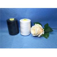 Quality 402 High Strength Raw White Polyester Sewing Thread For Weaving for sale