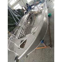 Quality High Performance Aluminum Fishing Boats 1.9M Width Aluminum River Boats for sale