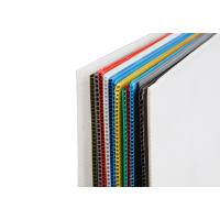 Quality Durable Color PP Corrugated Sheet , Strong Outdoor Corrugated Plastic Board for sale