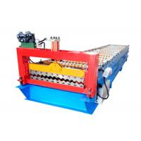 Quality High Efficiency Corrugated Sheet Roll Forming Machine Size 5800*1300*1500mm for sale