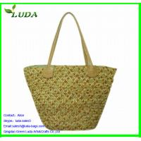 Quality 100% handmade natural fashion straw bag for sale