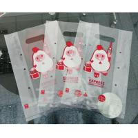 China Fried Chicken Biodegradable Plastic Bags , Take Away Recycling Plastic Bags on sale