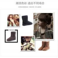 Quality 5825 hot sale fashion new style warm shoes china winter women black snow boots, half boots, factory cost for sale