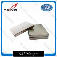 Quality Sintered Neodymium Block Magnets Tighter Tolerances For MRI / Wind Generator for sale