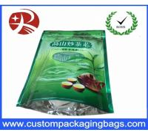 Quality OEM RDY PE Laminated food grade plastic bags Custom Printed 3 side sealed for sale