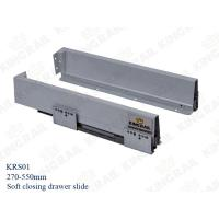 Quality Kitchen Drawer Slide With Soft Closing Drawer Runner slide for cabinet KRS02 for sale