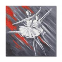 Buy cheap Abstract Dancing Girls Paiting Artwork size in 60X60CM from Wholesalers