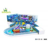 Quality Kids Soft Play Wooden Children Indoor Park Slip Resistant For Shopping Mall for sale