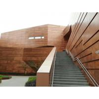 Quality Anti Static Copper Aluminum Composit Building Material Gold Copper Brushed for sale