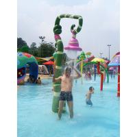 Quality Customized Spray Aqua Play Water Game, Fiberglass Water Park Equipment for sale
