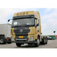 Quality CHACMAN X3000 M3000 10 Wheeler Tractor Head Heavy Duty 420HP Prime Mover for sale