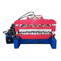 Quality Newest Design For Wold Wide Market Roofing Sheet Roll Forming Machine With PLC Control for sale