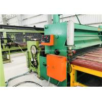 Quality Green Gabion Wire Mesh Machine 5300mm Max. Netting Width For Slope Revetment for sale