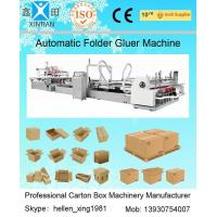Quality Automatic Folder Gluer Carton Packaging Machinery14.5KW 380V 50HZ , 3 Phase for sale