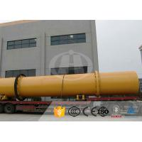 Quality High Efficiency Rotary Drum Dryer Anti Overload For Sawdus Wood Chips for sale
