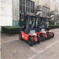 Quality Pneumatic Tires Diesel Forklift Truck 3000mm Lift Height Automatic Transmission for sale