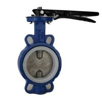 Quality Gear Operated Wafer Type Butterfly Valve , Wafer And Lug Type Butterfly Valves for sale