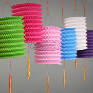 Buy 15 Cm Spring Garland Paper Lanterns Craft Diy Portable Handmade Christmas at wholesale prices