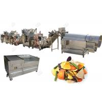 Quality Stainless Steel 304 Potato Chips Making Machine Fruit And Vegetable Chips Semi - Automatic for sale