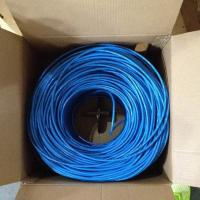 Quality Network Cable/LAN Cable/ethernet cable (305m in pull box)/UTP,FTP,SFTP,CAT5e,CAT6 for sale