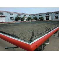 Buy cheap inflatable  boom swim pool  with HDPE mesh to keep you safe in the sea from Wholesalers